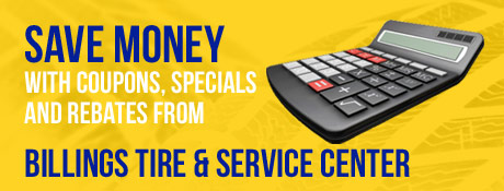 Billings Tire and Service Savings