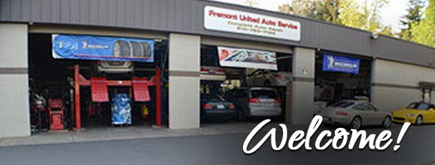 Fremont United Auto Service Location