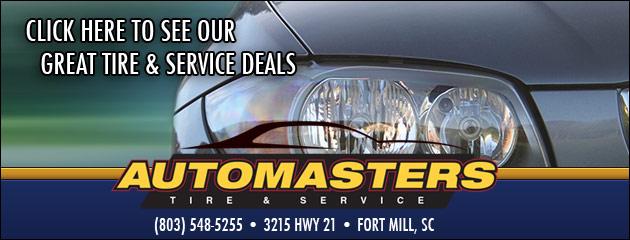 Auto Masters Tire & Service Savings