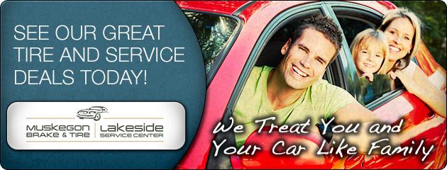 Muskegon Brake & Tire Savings
