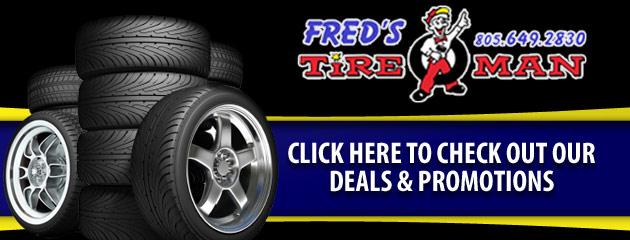 Freds Tire Man Savings