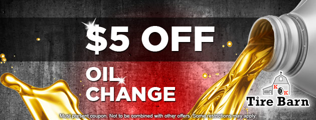$5.00 Off Oil Change