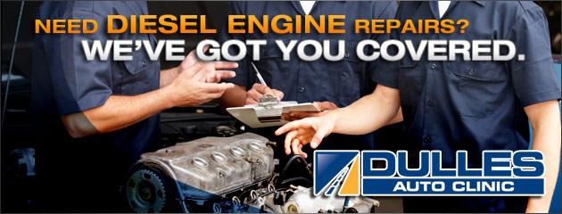 Dulles Auto Clinic Diesel Engine Repairs