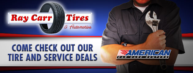 Ray Carr Tires Savings