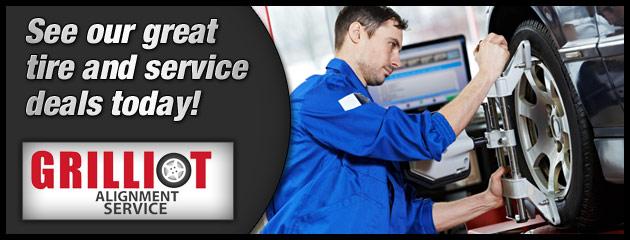 Grilliot Alignment Service Savings