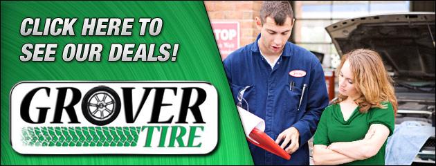 Grover Tire Savings