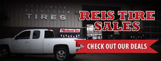 Reis Tire Sales Savings