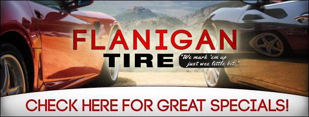 Flanigan Tire Savings