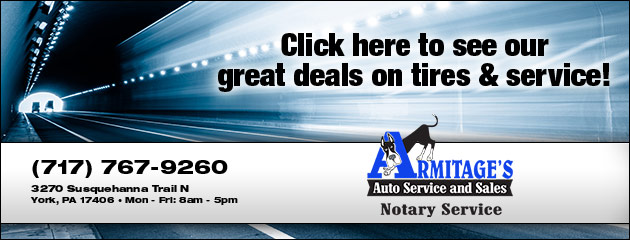 Armitages Auto Service and Sales Savings