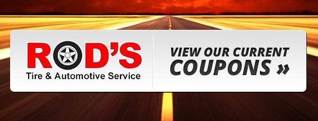 Rods Tire & Automotive Service Savings