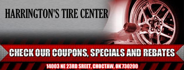 Harringtons Tire Center Savings