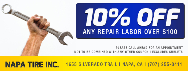10% off any repair labor over $100
