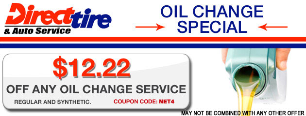 $12.22 Oil Change Special