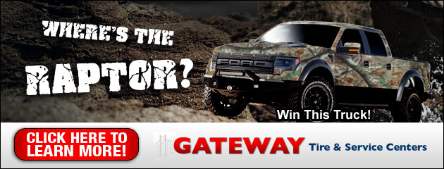 Gateway Tire Wheres the Raptor