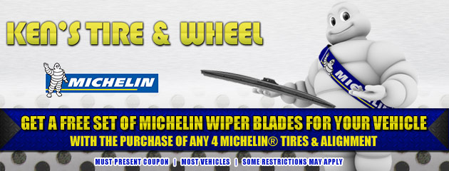 Buy 4 Michelin Tires Get Free Wiper Blades