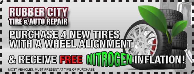 Free Nitrogen Inflation
