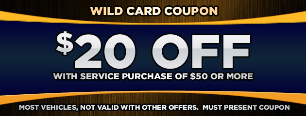 $20 OFF Service Purchase