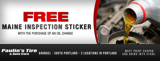 Free Maine Inspection Sticker