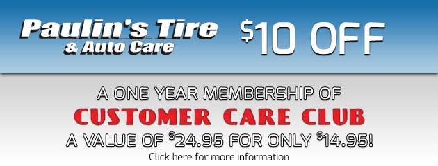Customer Care Club Promotion