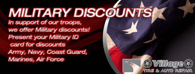 Military Discounts Slider