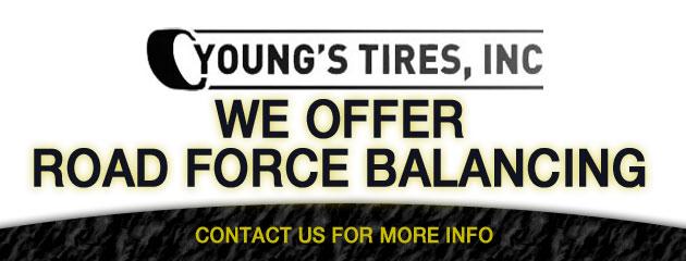 We offer road force balancing