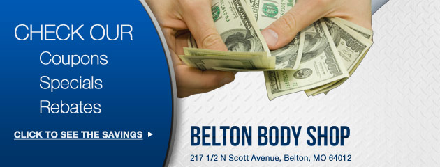 Belton Body Shop Savings