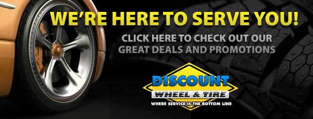 Discount Wheel and Tire Savings