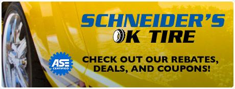Schneiders OK Tire Savings