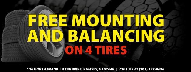 FREE Mounting and Balancing