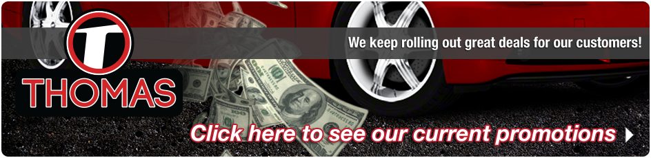 Thomas Tire & Automotive Savings