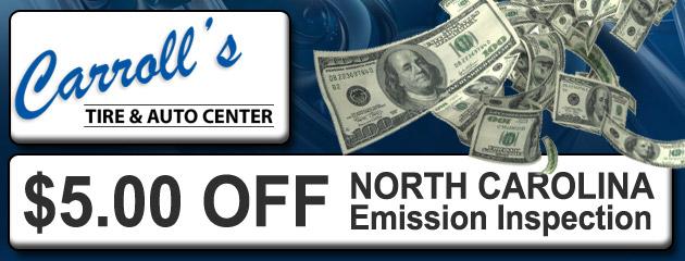 $5 Off Emission Inspection
