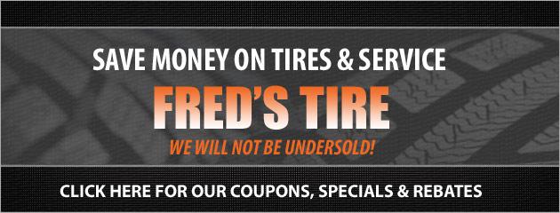 Freds Tire Savings