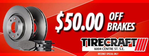 $50 Off Brakes
