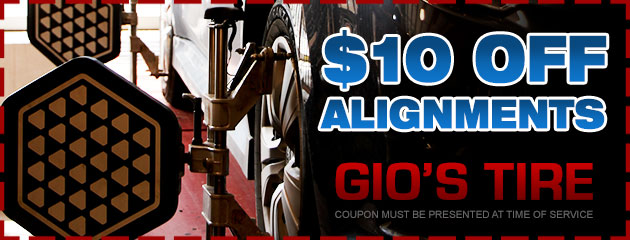 $10 off alignments