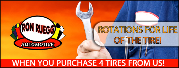 Rotations For Life of Tires