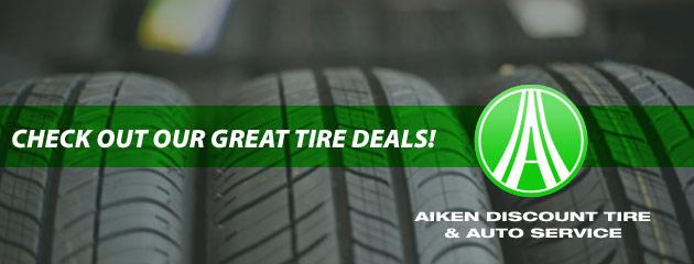 Aiken Discount Tire Savings
