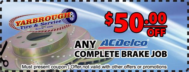 AC Delco brake job special