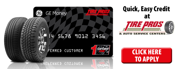 Tire Pros Credit Card