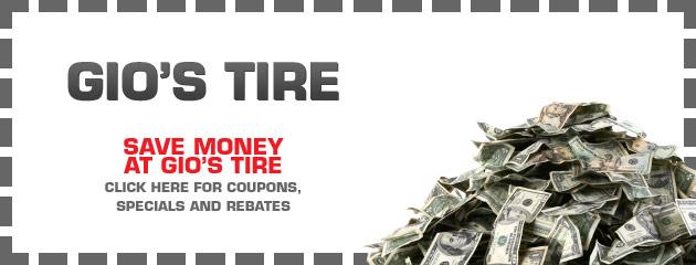 Gios Tire Savings