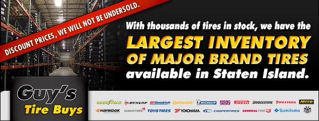 Largest Tire Inventory!
