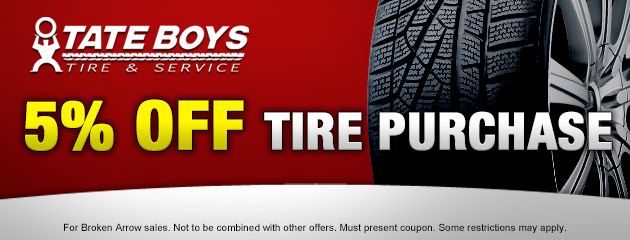 5% off Tire Purchase