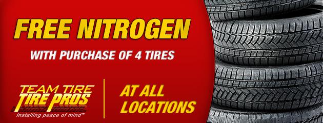 Free Nitrogen - All Locations