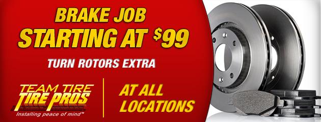 Brake Job - All locations