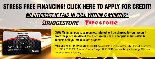 Bridgestone CFNA Card