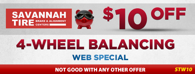$10.00 Off Wheel Balancing - STW10