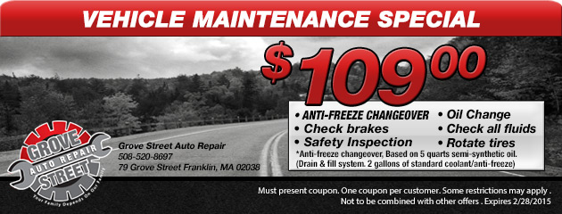 Fall/Winter Vehicle Maintenance