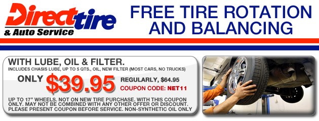 Free Tire Rotation & Balancing