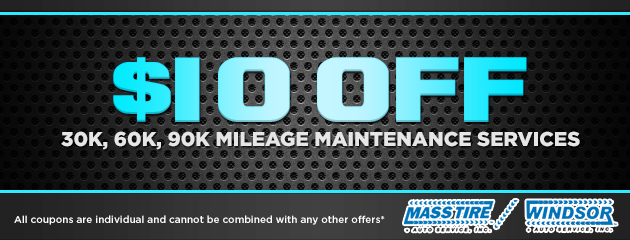 $10 Off Mileage Maintenance Services