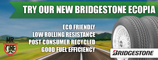 New Ecopia Tires from Bridgestone