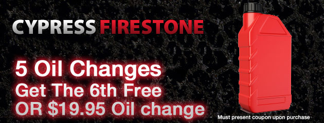 Buy 5 oil changes get 1 free deal
